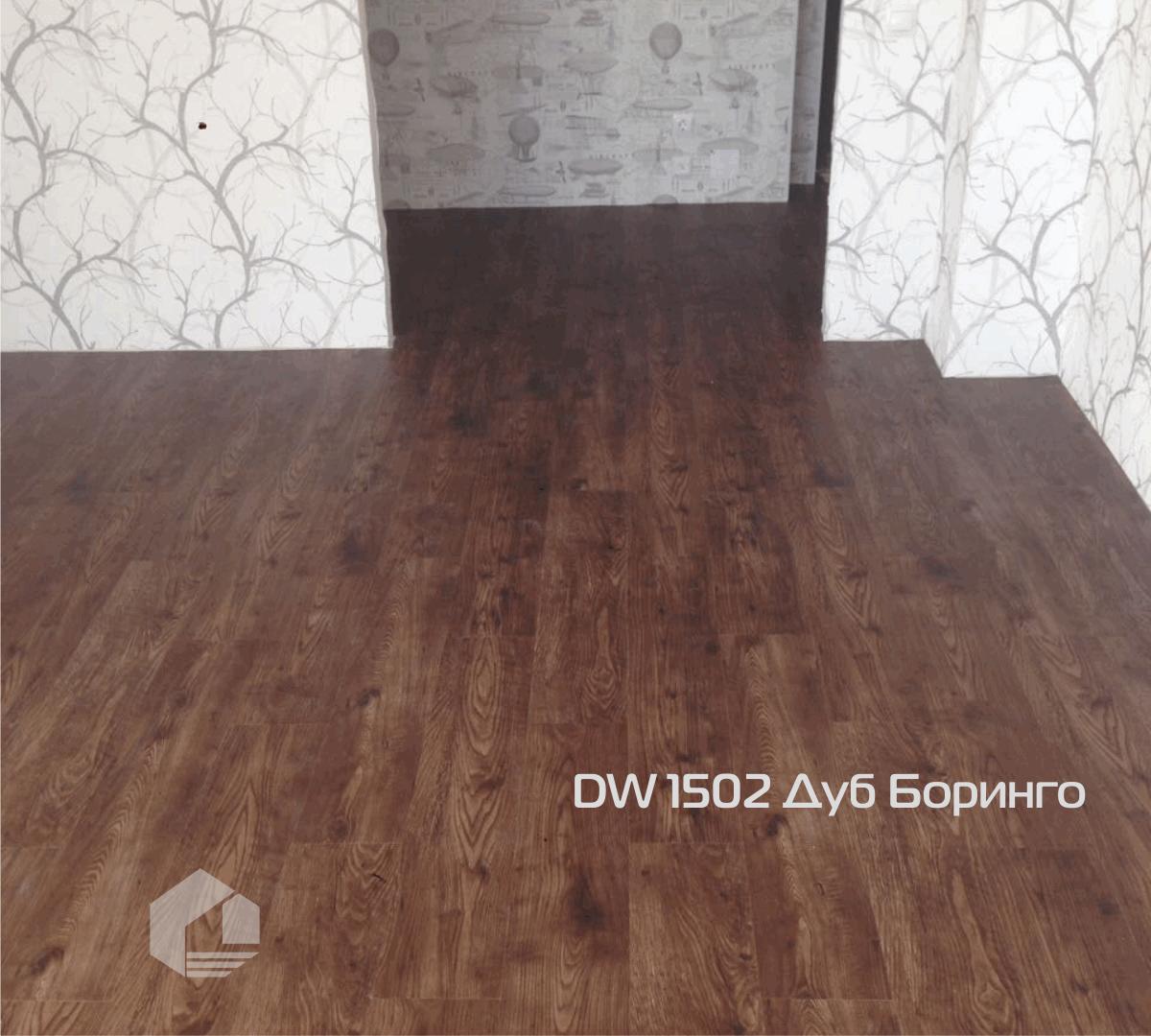Кварцвиниловая плитка Decoria Office Tile DW1502
