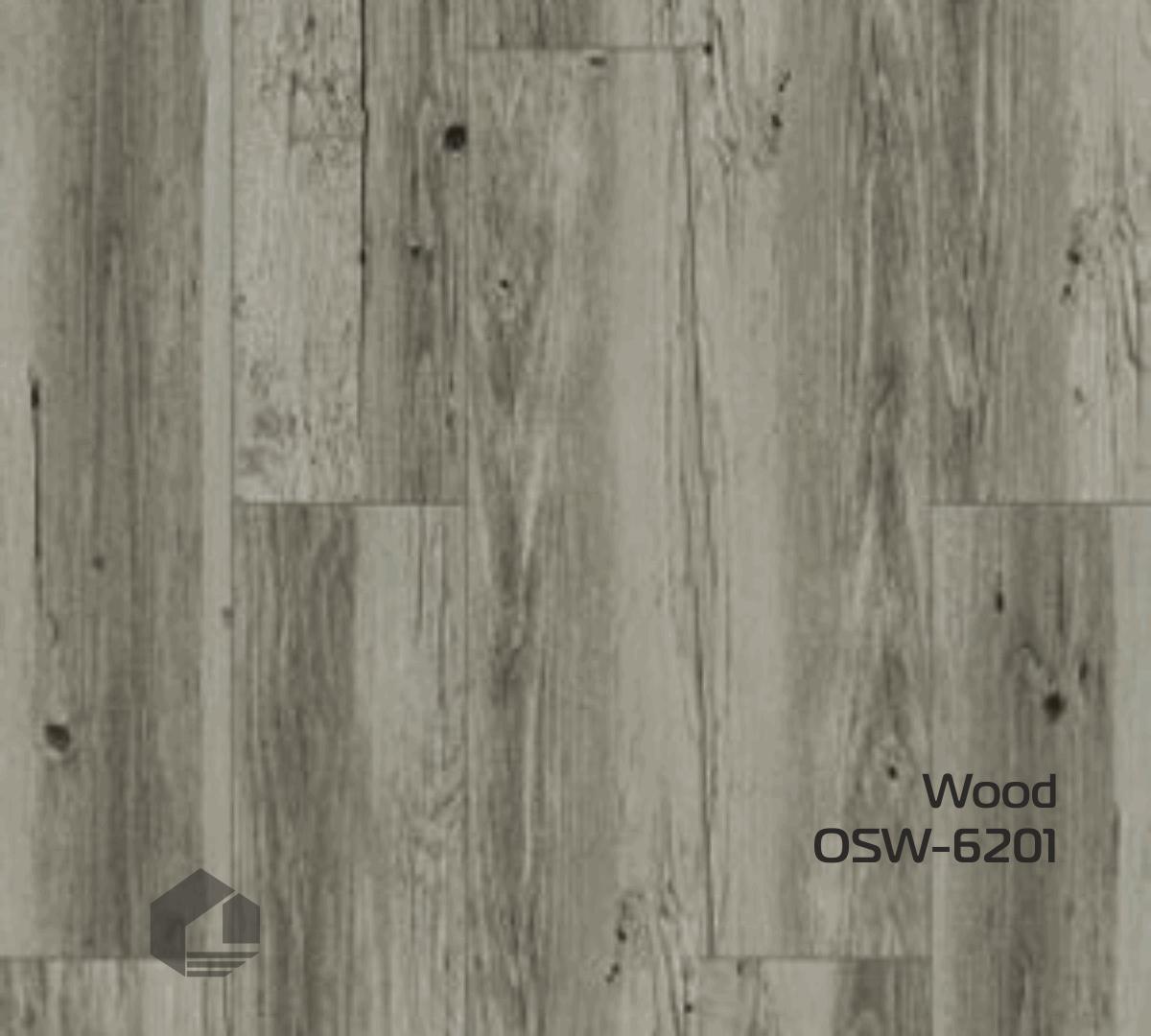 Кварцвиниловая плитка Orchid Tile Wood OSW-6201 (186*940*3 мм.) 19шт/3,32м2