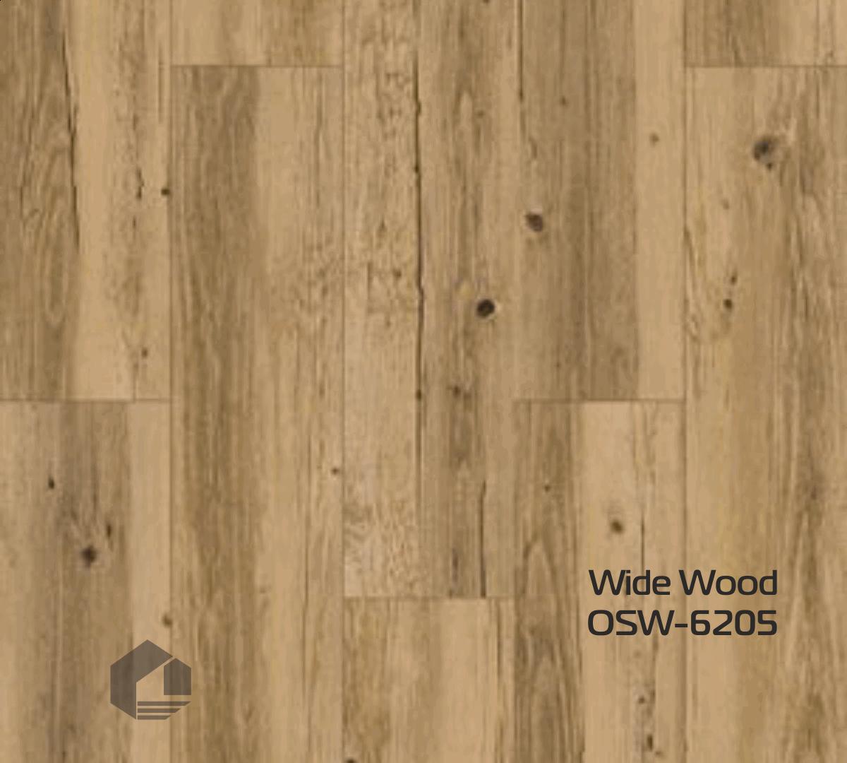 Кварцвиниловая плитка Orchid Tile Wood OSW-6205 (186*940*3 мм.) 19шт/3,32м2
