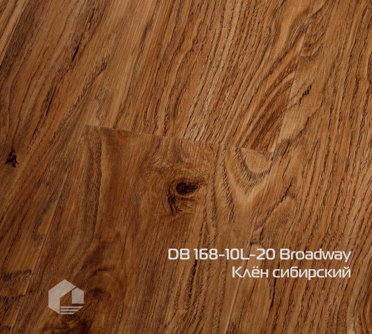 Кварцвиниловая плитка Wonderful Vinyl Floor Broadway DB 168-10L-20 Клён сибирский