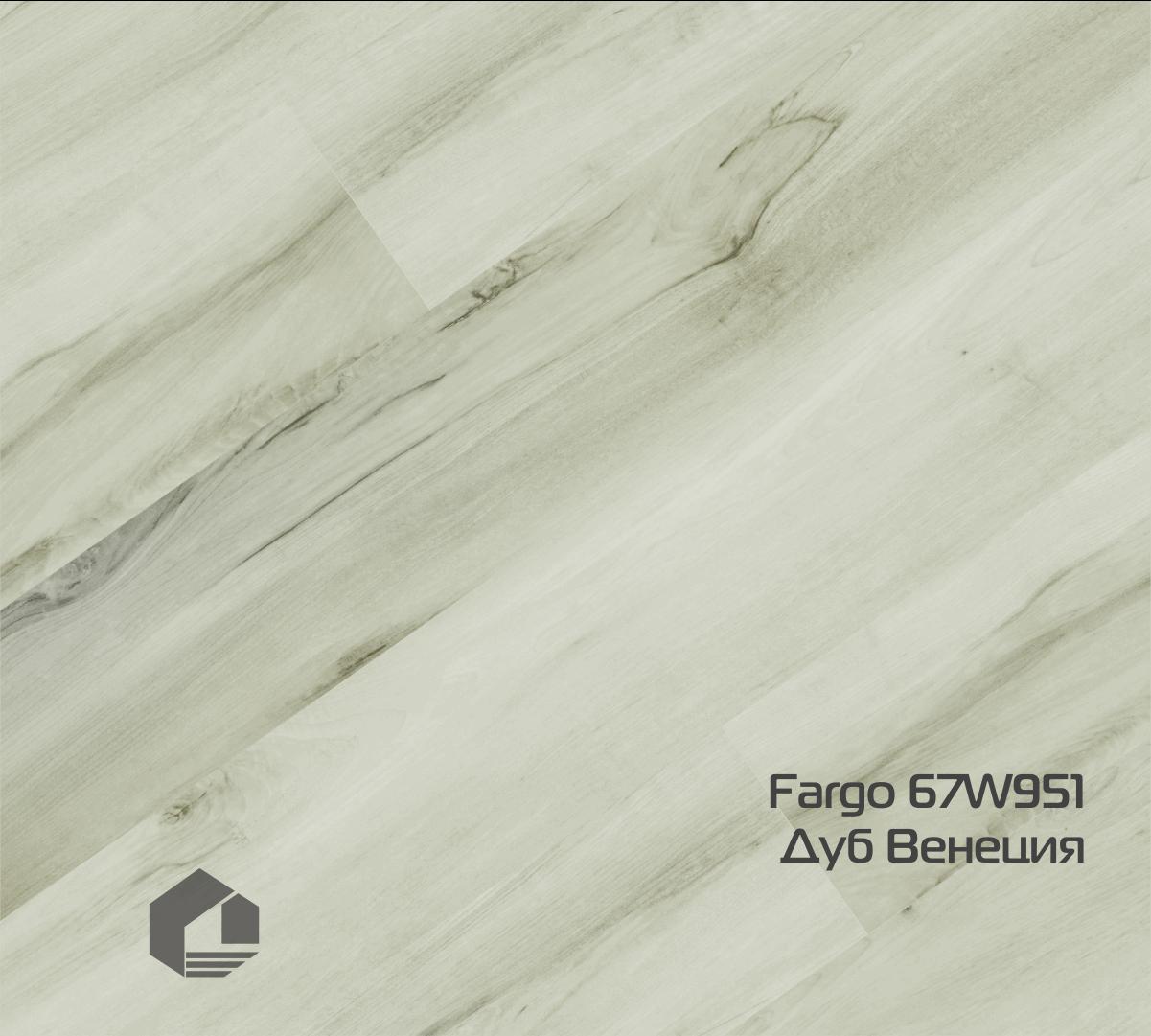 Кварцевый ламинат Fargo Classic 67W951