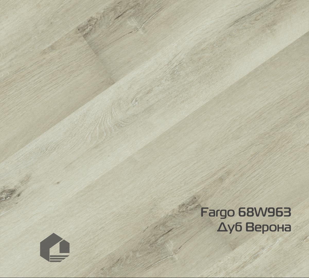 Кварцевый ламинат Fargo Classic 68W963