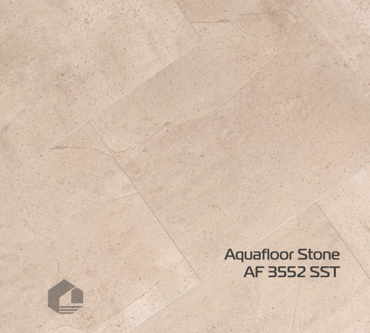 Кварцевый ламинат Aquafloor STONE AF 3552SST (610*305*3,5 мм) 10шт/1,86м2