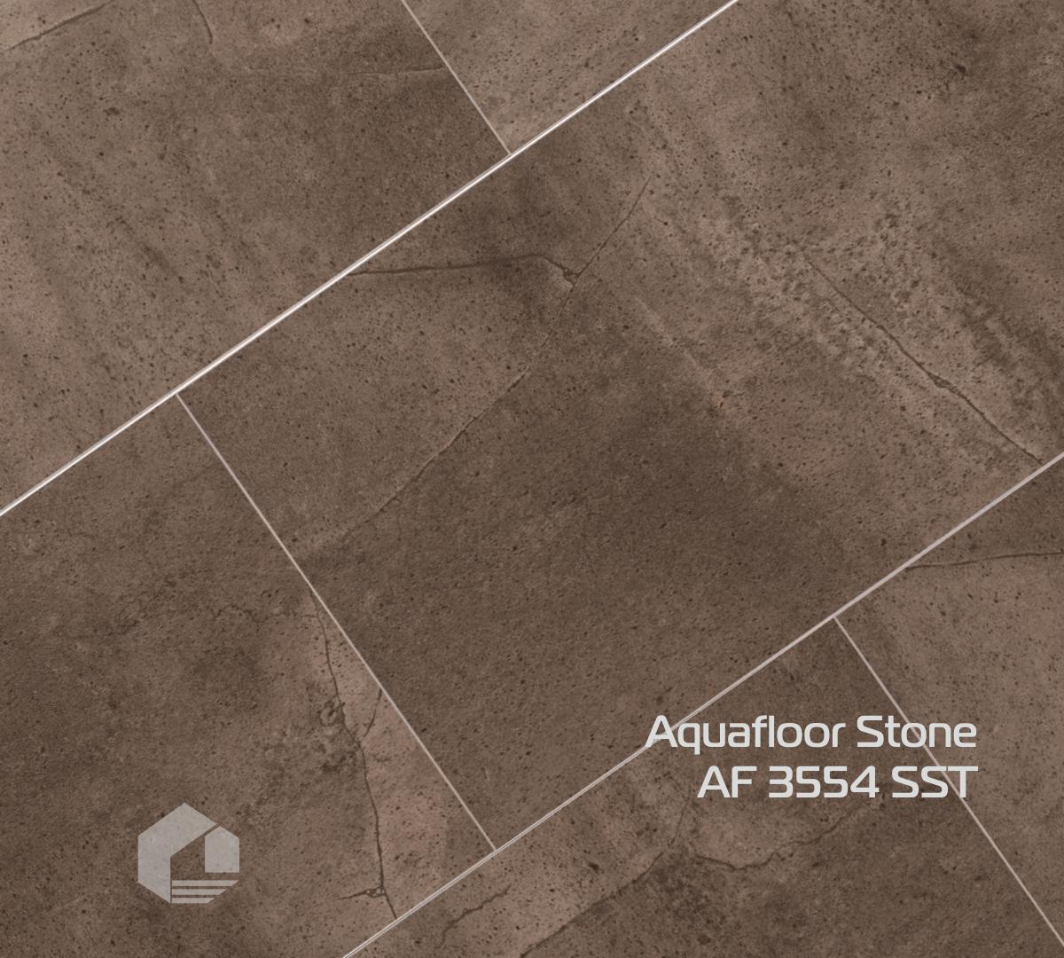 Кварцевый ламинат Aquafloor STONE AF 3554SST (610*305*3,5 мм) 10шт/1,86м2