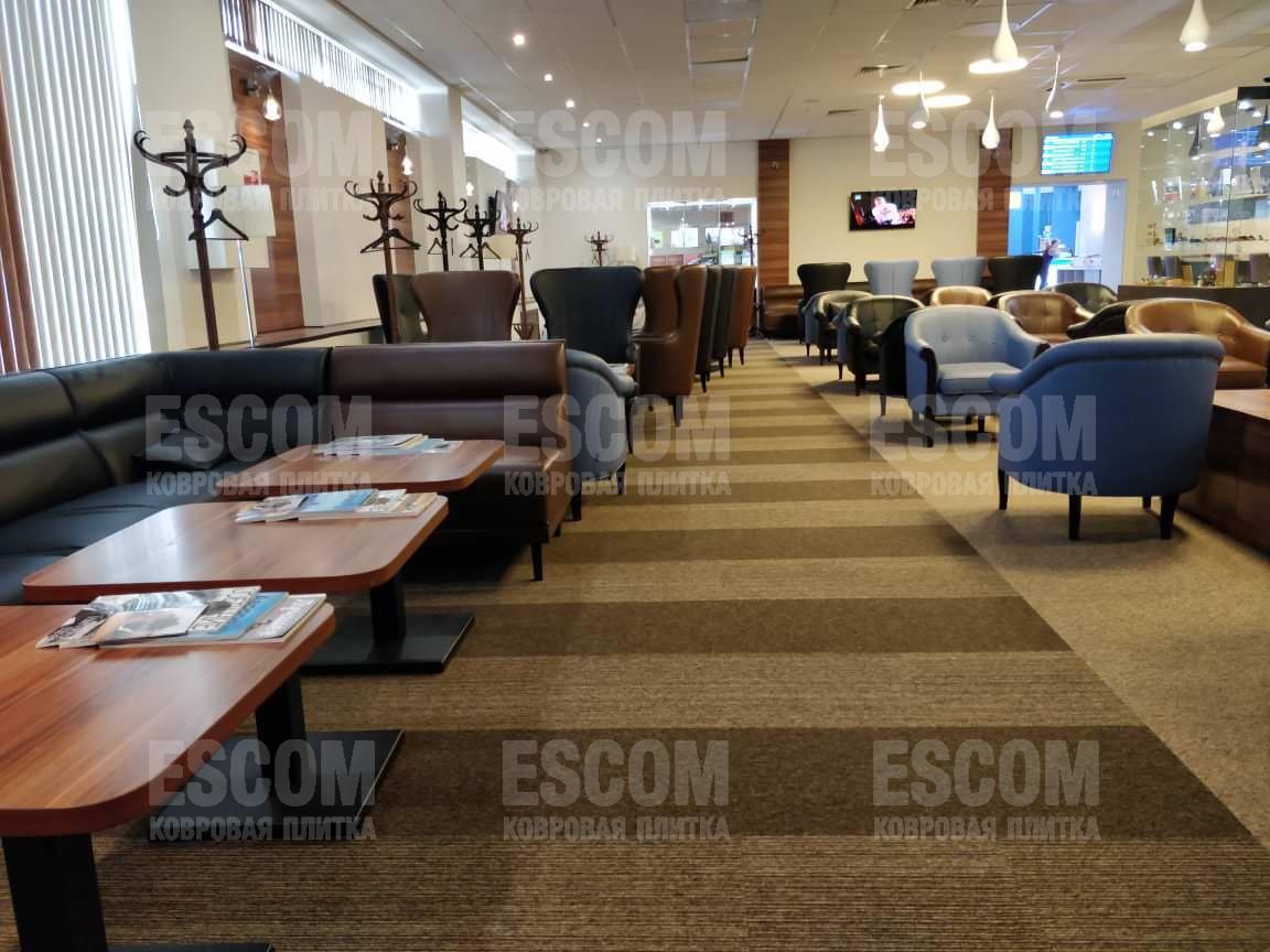 Ковровая плитка ESCOM Object 2009 (500*500*5,5) 100% PA, тафт
